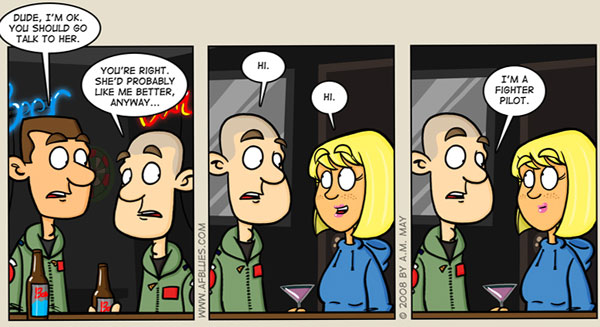 Air Force Blues Comics
